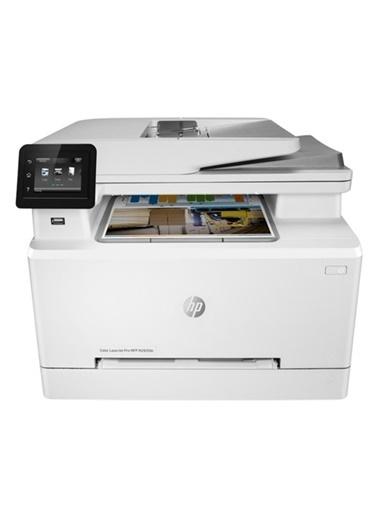 HP 7Kw74A M283Fdn Renkli Laser Yazıcı Tarayıcı Fotokopi Fax Renkli